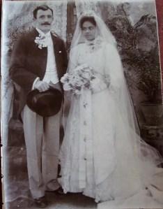 Richard Sleath and Gwyndon Ophelia Mathias