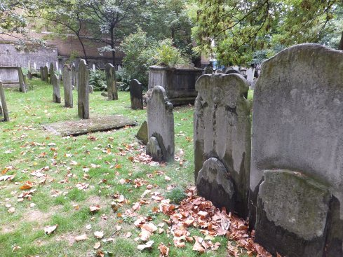 Bunhill Fields Burial Ground today