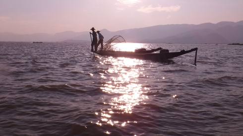 Intha Fishermen on Inle Lake