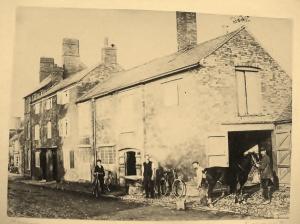 John Thomas Perkins Blacksmith Shop on Main Road Claybrooke Magna c. 1898