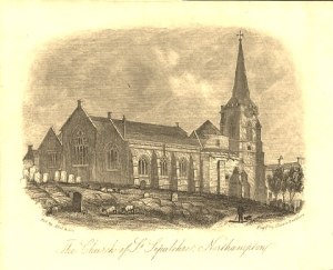 The-Church-of-St-Sepulchre-Northampton-by-Harris-Brothers-Abel-Son-c-1850s2