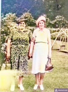 Agnes, my Mom and Daisy, my Aunt